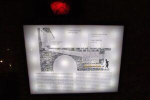 Widoczna jest ekspozycja Podziemnego Olkusza.