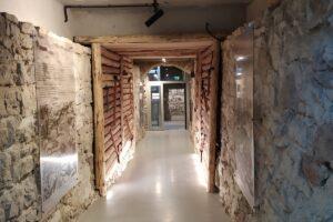 Na zdjęciu widać korytarz w Podziemnym Olkuszu.