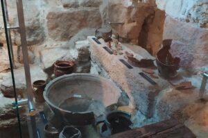 Na zdjęciu widać ekspozycję Podziemnego Olkusza